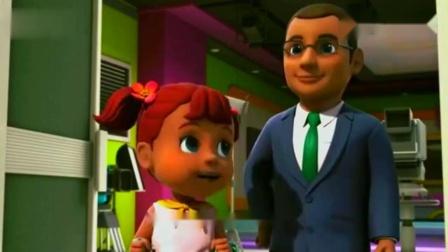 超级飞侠:奥芙订购了麦克风,她想像爸爸一样当个天气预报员!.mp4
