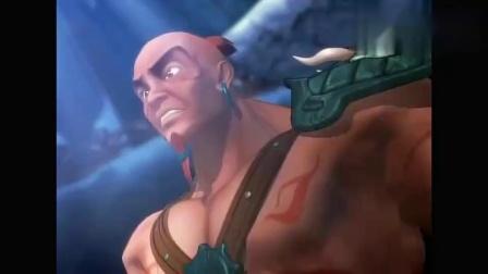 秦时明月天明第一次露出强烈的杀机,因为盖聂倒在卫庄的剑下!