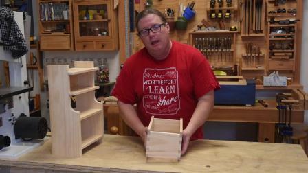 简单的手工工具燕尾箱-开始木工-六级