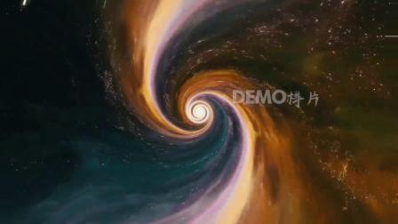 歌曲配乐 c863 4K高清画质震撼大气宇宙星空黑洞吞噬时光旋涡科学探索宣传视频素材 背景视频