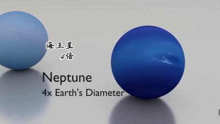 太阳系各星球之间真实距离有多远?3D动画告诉你.mp4