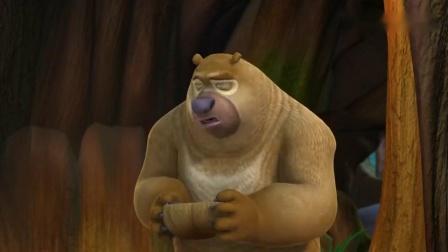熊出没:熊二吃饭太斯文了,这啥时候学的西餐礼仪,熊大都不适应