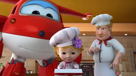 超级飞侠:乐迪送包裹,里面是蛋糕装饰工具,这可是小女孩的最爱!