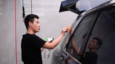 【厦门尊享会】劳斯莱斯库里南全车威固隐形车衣施工过程
