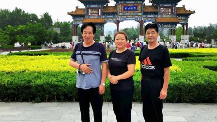 西安宫树青:在天津—中软杆空竹技艺展示