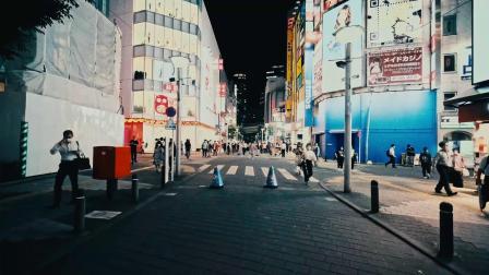 【玉帝之杖】2020年7月疫情下的东京街头下班晚高峰-何冠霖