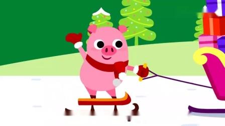 碰碰狐儿歌:跟小企鹅装饰圣诞树吧,全是小彩灯,亮晶晶真好看