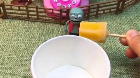 小朋友许愿想吃冰激凌,老天爷真的给了,蝎子精就没有冰激凌