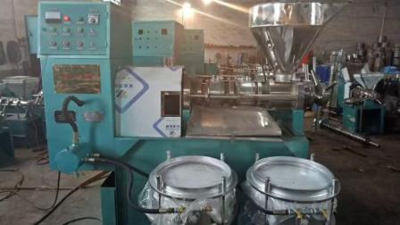 冷榨椰子油,热榨菜籽油,螺旋榨油机