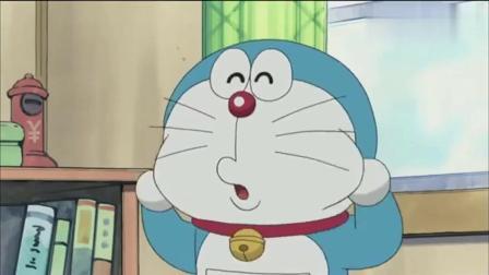 哆啦A梦:蓝胖子准备送给机器猫吃过就会爱上的菠萝面包