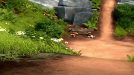 捣蛋猫头鹰第二季:神秘宝藏是巨人的陷阱,青蛙和绵羊果然没智商