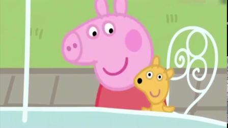 小猪佩奇在国外旅行,还观看了比萨的制作过程!