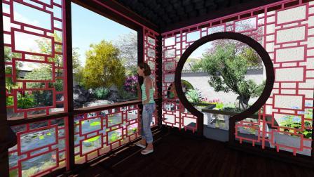 农家别墅木屋别墅农家小院设计——武汉市金叶云园艺有限公司出品