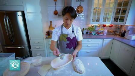 烘焙學-蕃茄蘿勒松子麪包 (裸麥酵頭)
