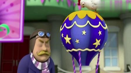 汪汪队:毛毛吃蛋糕太认真,一头撞到桌子上,真是个贪吃鬼!