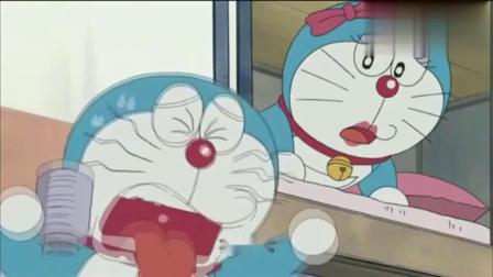 哆啦A梦:另一个哆啦A梦不喜欢铜锣烧,铜锣烧是咸的,茶是甜的.