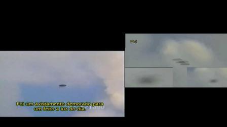 【UFO】1998年出现在国外一军事通讯塔附近的UFO