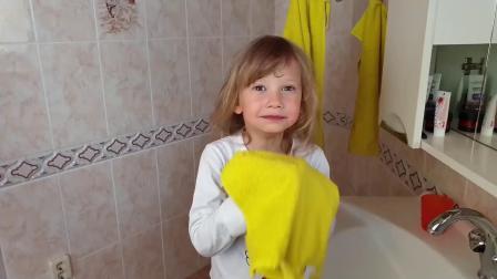 可爱萝莉:萝莉清早的看到一张极其惊悚的图片,吓的赶紧去洗漱了