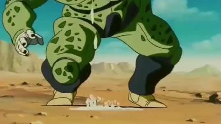 龙珠:悟饭这一脚太重,沙鲁把吃了好几天的18号吐了出来