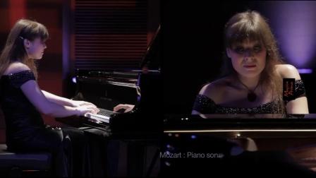 钢琴《Mozart Piano Sonata - 莫扎特钢琴奏鸣曲 》Fedorova Anna