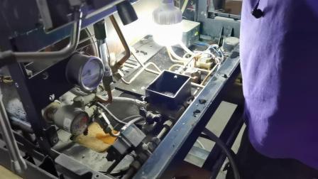 诺瓦半自动咖啡机维修测试,文咖啡nuova咖啡机维修培训 (4)