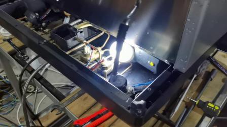 文咖啡nuova咖啡机维修培训,诺瓦半自动咖啡机维修测试 (7)