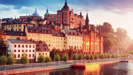"""【欧洲风光】瑞典首都-斯德哥尔摩风光(北极圈里的""""威尼斯水城"""")"""