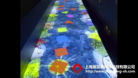 地面互动投影--上海展泓多媒体科技有限公司-展