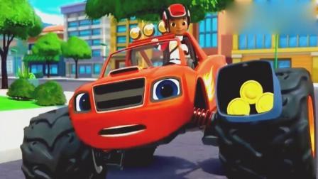 旋风战车队:鸡想偷吃披萨,飚速用披萨让鸡听话!