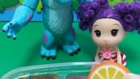 嘟嘟要吃冰激凌,可是冰激凌不见了,好尴尬啊