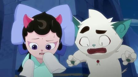 京剧猫:画师的画被白糖烧毁,还原小镇真面目,可惹怒画师了.
