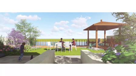 英式花园别墅庭院景观园林绿化设计——武汉市金叶云园艺有限公司出品