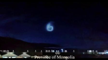 【UFO】2020年7月蒙古国三个地区目击UFO,可能是火箭余晖