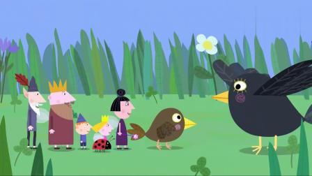 搞笑班班和莉莉:小鸟找到了妈妈,它们终于合家团圆了,真是有点感动