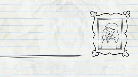 搞笑铅笔画小人游戏:阿呆把博物馆的画摔坏了,这是怎么回事