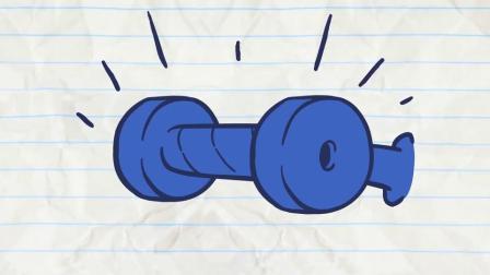搞笑铅笔画小人游戏:阿呆把厕所的纸巾都带走了,这是怎么回事