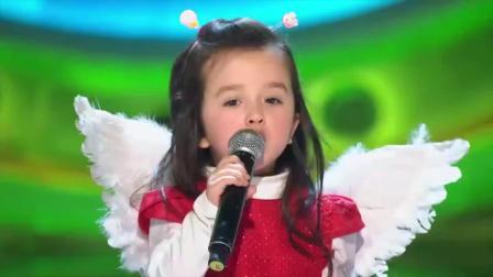 歌声的翅膀:被这个小萝莉圈粉了,别看年纪不大,音准无敌了!