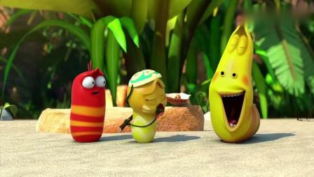 爆笑虫子:小黄变神厨,做出玫瑰型美食,这绝对是泡妞神技.mp4.mp4