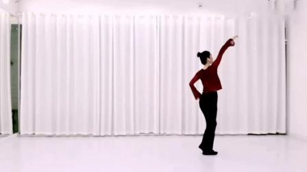 花儿舞蹈《美人吟》正背面演示及口令示范_高清