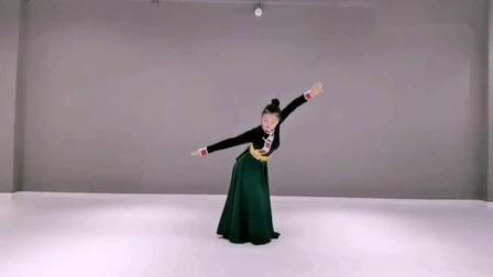 深圳花儿舞蹈  《卓玛》正背面示范完整版_高清