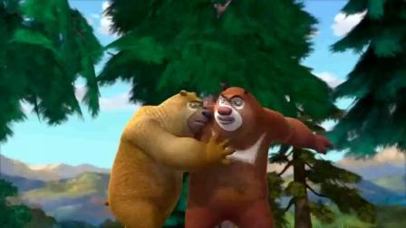 熊出没:一根香蕉就搞定了吉吉,毫无挑战性!强哥去砍树了