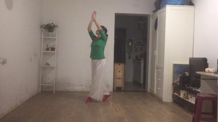 旧容颜舞蹈队古典形体舞想你的时候问月亮正背面教学