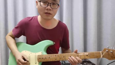 吉他布鲁斯即兴Solo教程(四):布鲁斯的基本节奏训练