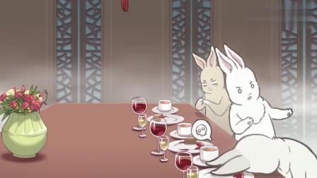 非人哉:玉兔吃火锅,什么东西都是月饼的,看见都快吐了