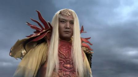 热剧:海妖要杀女孩,还嫁祸给龙王,龙王人家在家中坐锅从天上来超好看