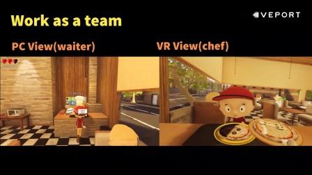 VIVEPORT最新PC VR休闲游戏《披萨大师VR》满足你当星级大厨的心