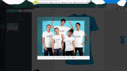 如何上传和设置自己的照片,制作自己的T恤