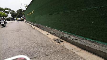 骑单车走辅道(板塘铺立体停车场-湘纺小学-多伦步步高)