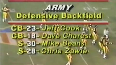 剪辑版:1979赛季NCAA 海军学院vs西点军校