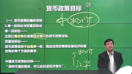 35.第四讲宏观经济学专题二货币政策知识点一货币政策目标